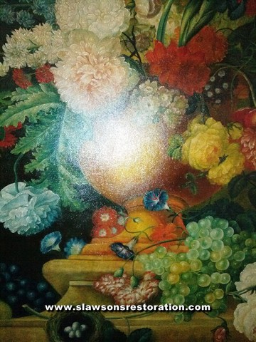 Antique Oil Painting Restoration