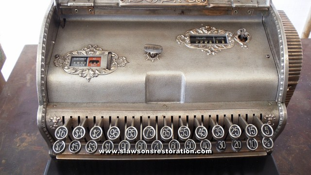 Antique Cash Register Restoration