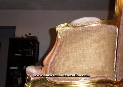 Armchair Antique Restoration