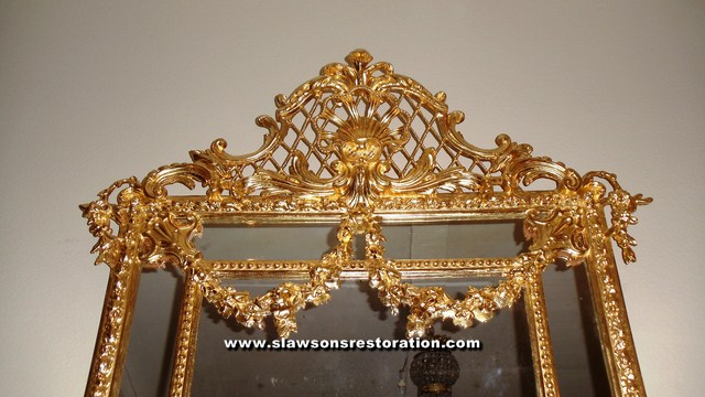 Gilded Mirror Restoration