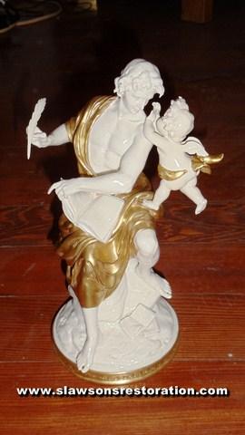 German Porcelain Restoration