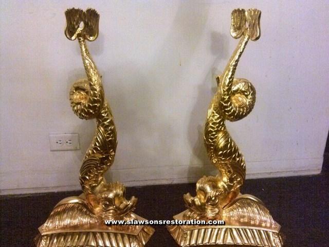 Gilded Oriental Fish Restoration