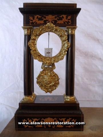 Metal Clock Restoration