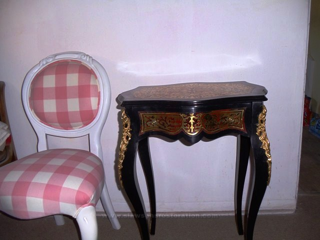 Boulle Table Restoration
