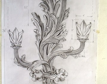 Carverd Sconces Restoration